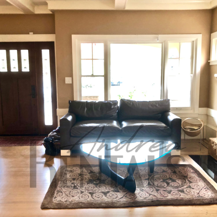 Beautiful FURNISHED Rockridge Craftsman Available for 10 Months Only.
