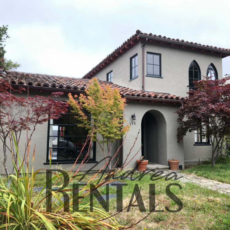 Picturesque, Mediterranean Style Home in the Berkeley Hills with Custom Details & Hardwood Floors!