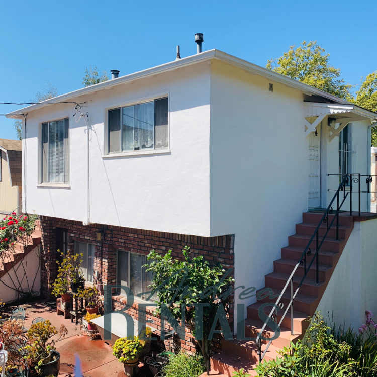 Sweet and Peaceful 1BR + Small Office in Duplex 4 Blocks to BART