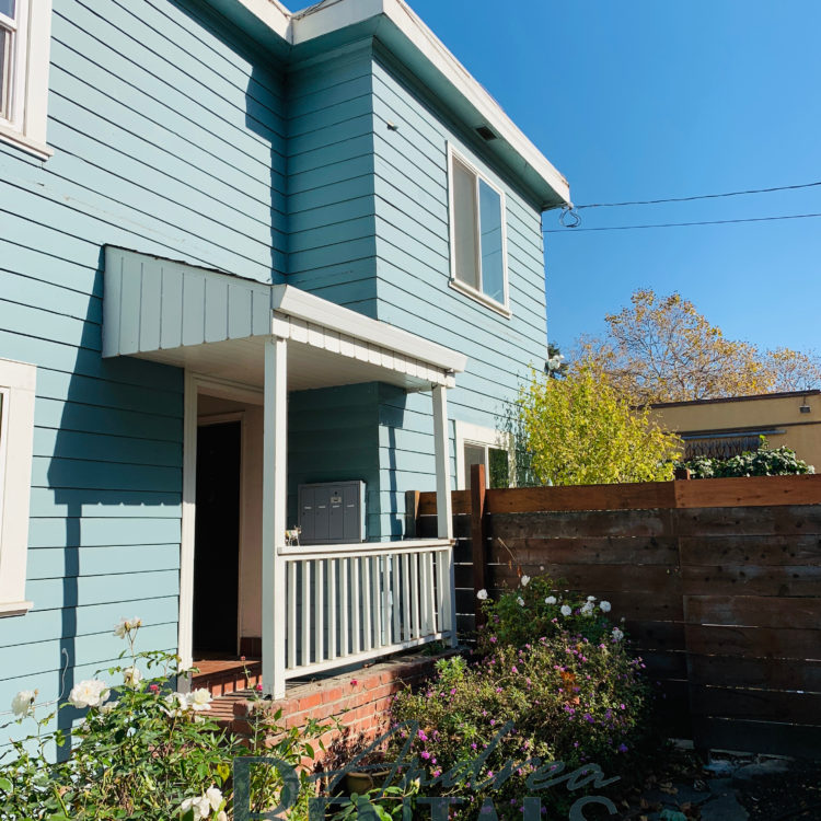 Lovely lower unit:  2BR + with garden access in secure 4-plex in Berkeley