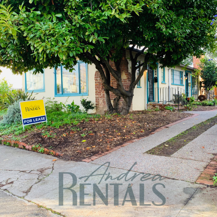 Sweet 2br/1bath garden oasis in central Alameda, available now!