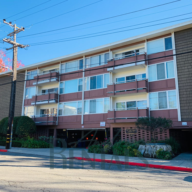 Partially furnished 2 bed/2 bath apartment, walking distance to UC Berkeley!