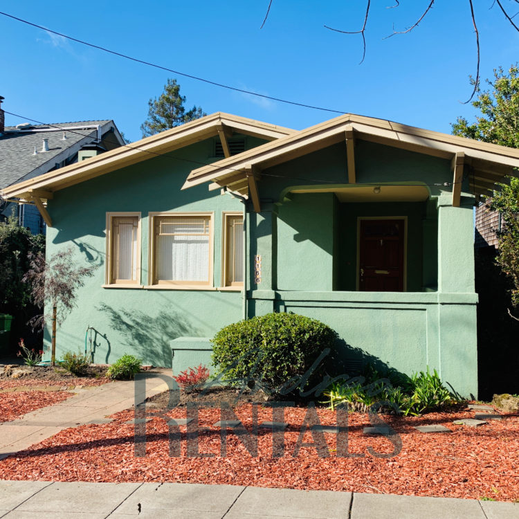 Lovely 2BD/1BA Classic North Berkeley Craftsman with Vintage Charm!