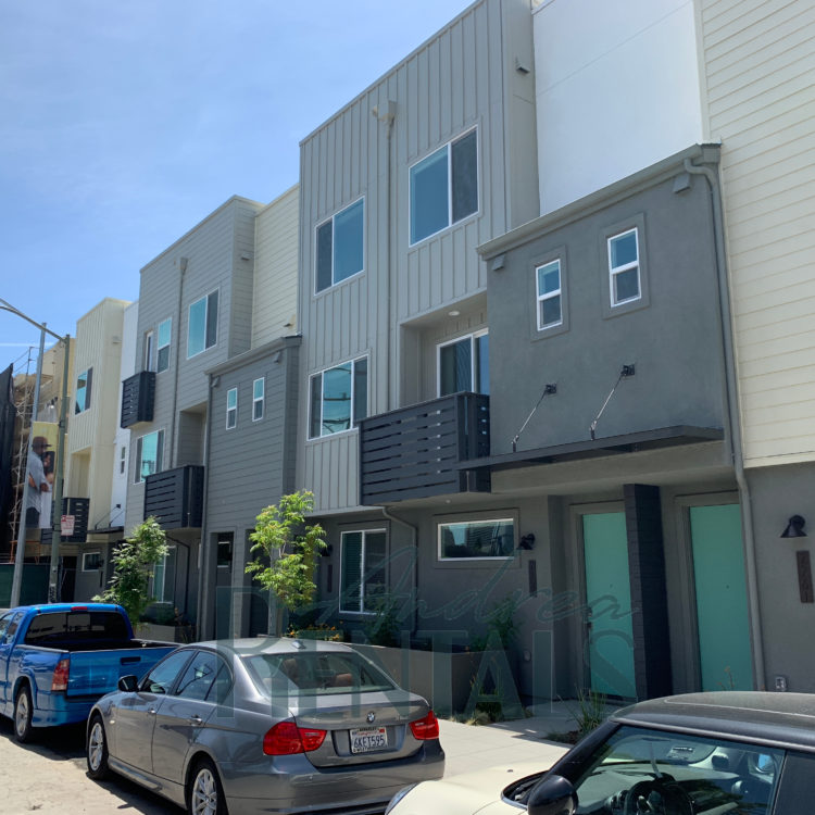 Pristine new townhouse for rent on the edge of downtown Oakland in luxury development!