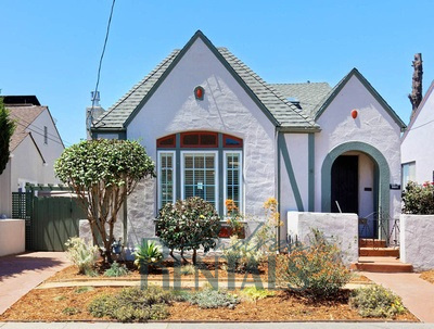Pretty 1920's tudor home with vintage charm and modern amenities on historic Picardy Drive near Mills College!