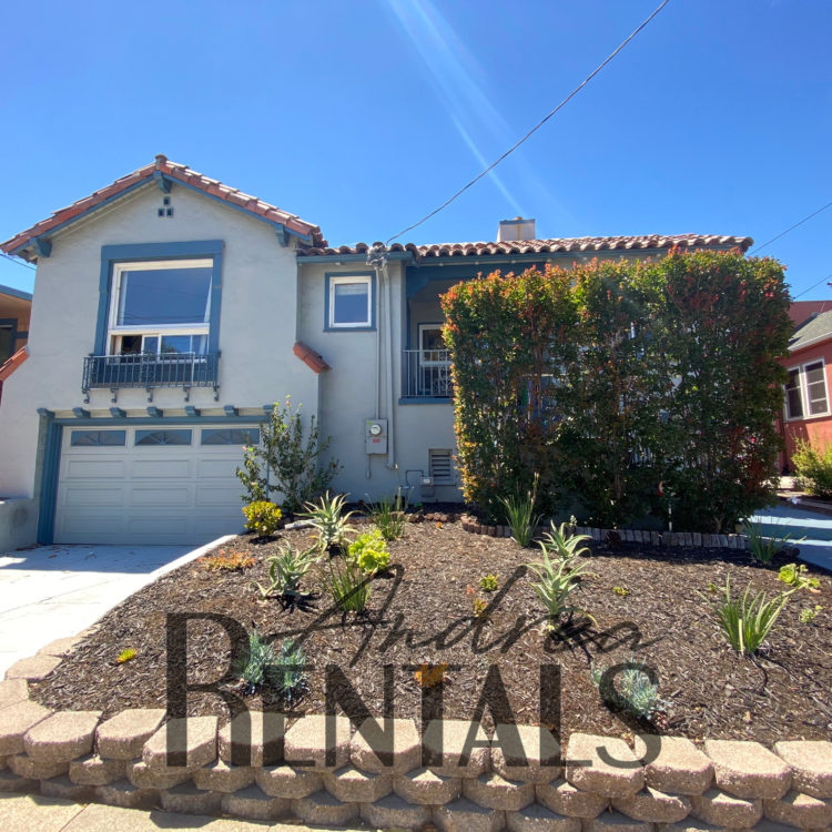 Adorable, bright 4br/2ba Mediterranean nestled in Oakland's Tuxedo district, just across from the lower Diamond!
