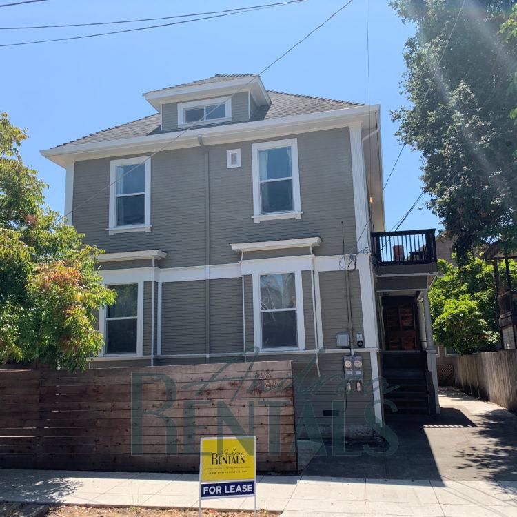 Fantastic renovations of a prestine Victorian flat on a quiet street in convenient Central Berkeley location!
