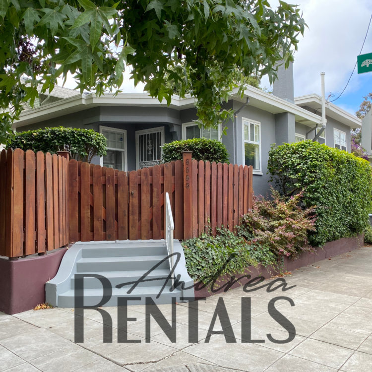 Perfect North Oakland 2br/1.5ba house + Office  with lots of new upgrades and fenced garden, just 4 blocks from Rockridge BART!