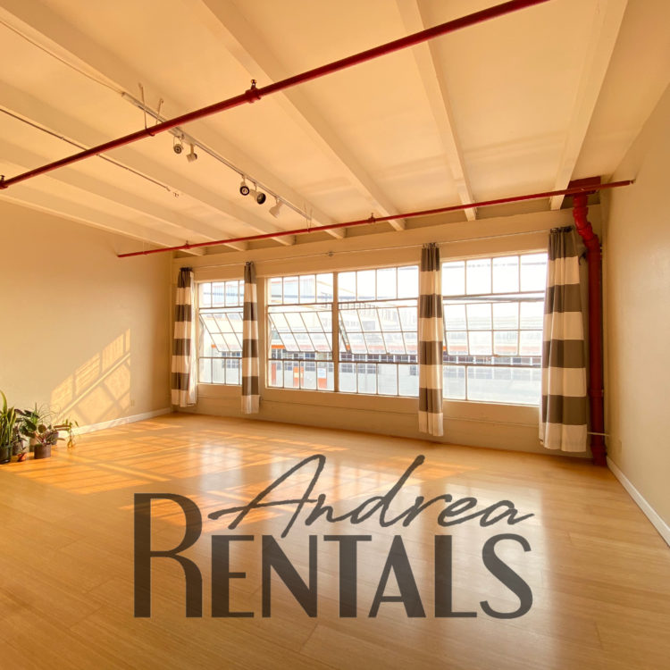 Live/Work Space on the Border of Emeryville & West Oakland!
