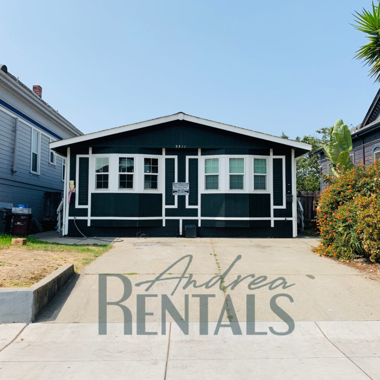 Spacious, sunny, and updated 3BD/2BA in a side by side navy-blue duplex, available now!