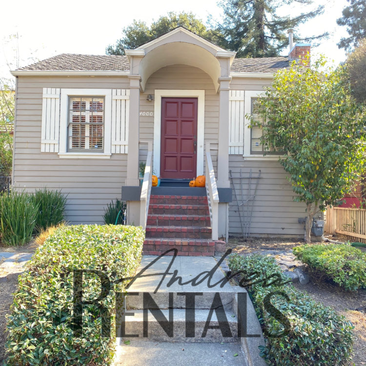Perfect 6 Month Furnished 2bd/1.5ba house with great indoor/outdoor living and sunny, spacious converted garage/office, just minutes from everything.