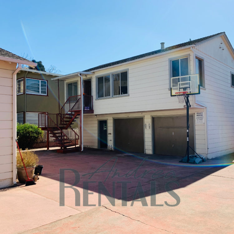 Sweet stand-alone 1BR+/1BA unit with garage and shared patio in a well-kept, small Berkeley property with 5 other 1BR units and shared parking and patio area.