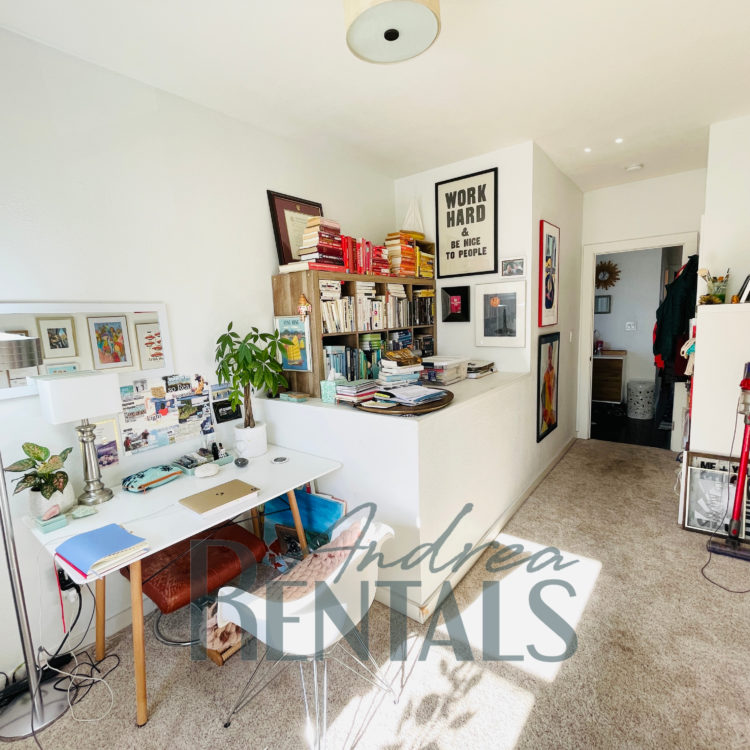 Pretty, modern top unit 2 bedroom/1bath unit with high end finishes in a sweet Victorian duplex in the heart of West Oakland.