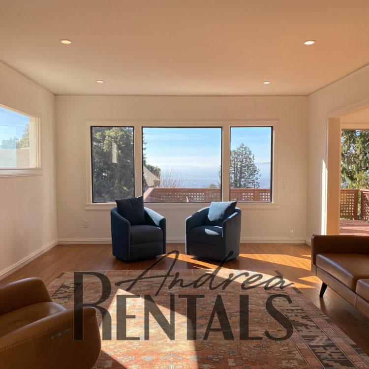 Elegant, modern 4 bedroom, 2 bathroom Berkeley Hills gem with sweeping views of the Bay, San Francisco, Marin, and beyond!