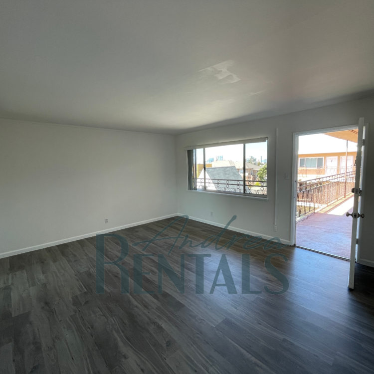 Spacious and fully renovated top floor 1 bedroom,1 bathroom apartment in the rear of a small, well-maintained, retro-cool apartment complex on Ivy Hill.