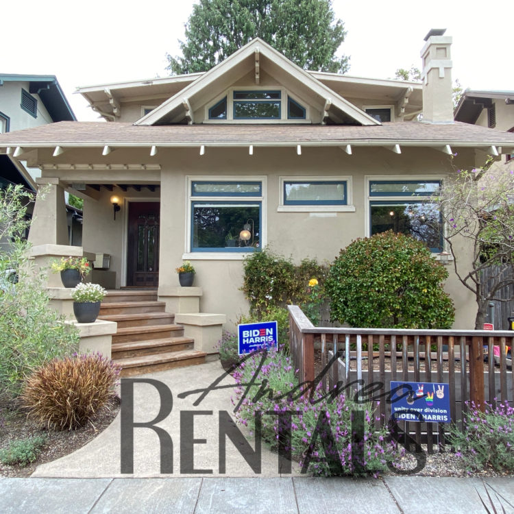 Lovely Rockridge 3br/2ba Craftsman with fun yard and garage storage, tucked into a serene side street just 1 block off of College Ave on the Rockridge/Elmwood border.