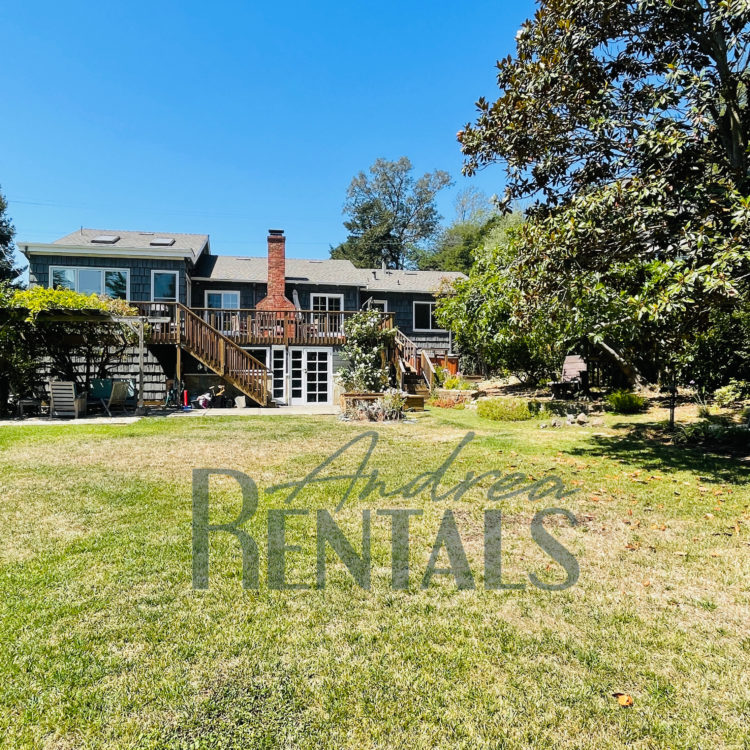 Gorgeous, playful Kensington oasis on nearly a half acre of park-like grounds, available September 15.  TURNKEY, FURNISHED 6-8 MONTH RENTAL with central AC, hot tub, house cleaner and more!